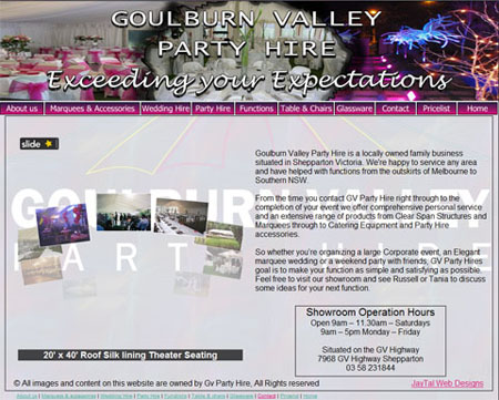goulburn valley party hire shepparton